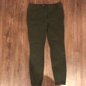 Loft Outlet women's modern skinny ankle pants.